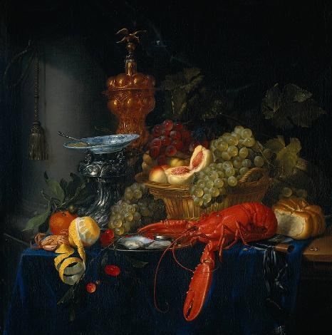 Pieter de Ring - Stilleben mit goldenem Pokal - ca. 1635-1660